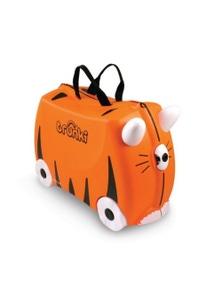 Tr0085-Gb01 Ride On Suitcase Toy Box Trunk Kids Luggage Tipu Tiger Trunki