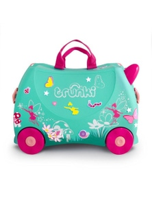 Trunki Ride On Suitcase Toy Box Kids Luggage - Flora The Fairy