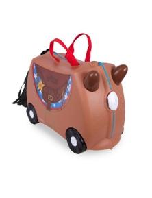 Tr0183-Gb01 Ride On Suitcase Toy Box Trunki Kids Luggage - Bronco