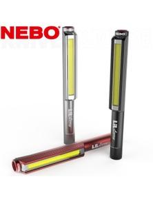 Nebo Lil Larry Led Pocket Work Light Flashlight 250 Lumen Pocket Clip 89531