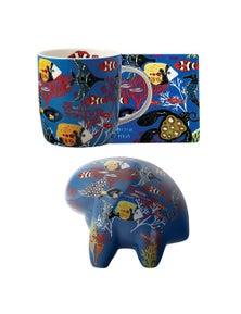 Maxwell & Williams Melanie Hava Great Barrier Reef Figurine & Mug/Coaster Combo