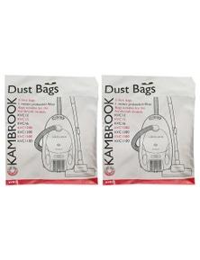 Kambrook 10PK Vacuum Bags for KVC12/15/16/1200/1300/1500/1100