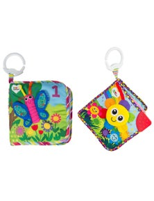 Lamaze Counting Animals/Fun with Colours Soft Book 2pc