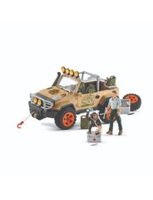 Schleich-4x4 Vehicle with Winch