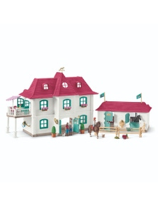 Schleich-Large horse Stable Playset