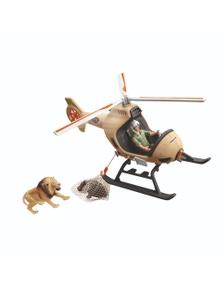 Schleich-Animal rescue helicopter