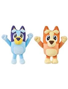 Bluey 2Pc Series 4 Expression Friends Mini Plush Toy - Bluey and Bingo