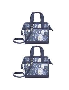 Avanti Insulated Lunch Bag - Bloom 2Pk