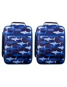 Avanti Yum Yum Insulated Lunch Bag - Camo Shark 2Pk
