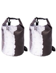 Is Gifts Australian Collection Dry Bag - Monochrome Waves 2Pk