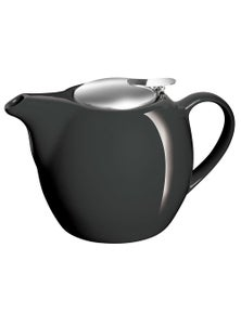 Avanti Camelia Pitch Black Teapot