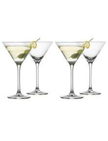 Ecology Classic 210Ml Martini Glasses 4Pc