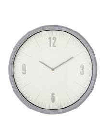 Emporium 50Cm Sonny Wall Clock Grey/White