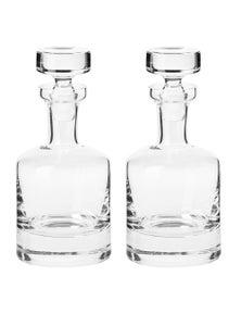 Krosno Sterling 750Ml Whisky Carafe 2X