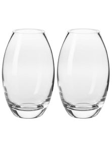 Krosno Elite Collection 23.5Cm Vase 2X