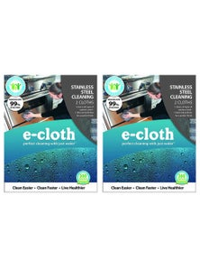 E-Cloth Stainless Steel Cloth 2Pk