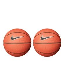 Nike Swoosh Skills 03 Basketball - Amber/Black/White 2Pk