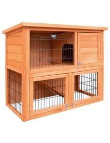 i.Pet Rabbit Hutch Chicken Coop 93cm x 40cm x 76cm