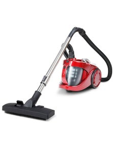 Devanti Bagless Vacuum Cleaner Red