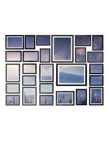 26-Piece Black Photo Frame Set
