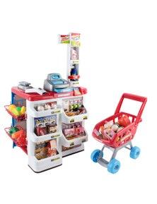 Keezi Kids Supermarket Pretend Play Set