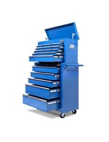 Giantz 14 Drawers Tool Box Chest - Blue