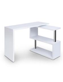 Artiss Office Computer Desk Study Corner Table Workstation Bookshelf