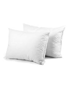 Giselle Bedding 2 x Goose Feather Down Pillows 73 x 48cm