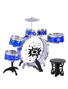 Keezi Kids 6-Piece Drum Set