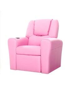 Artiss Luxury Kids Recliner Sofa Children Lounge Chair Couch Pu Armchair Pink