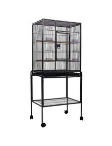 i.Pet Bird Cage Large Parrot Aviary With Stand 144CM