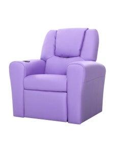 Artiss Luxury Kids Recliner Sofa Children Lounge Chair Pu Couch Armchair Purple