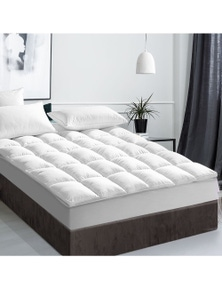 Giselle Bedding 1000GSM Duck Feather Down Mattress Topper