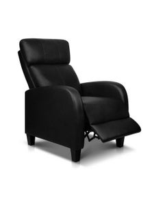 Artiss Recliner Chair Luxury Sofa Lounge Leather Armchair Couch