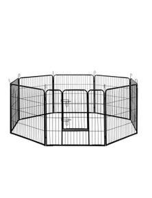 I.Pet 8 Panel Pet Dog Playpen Enclosure XL