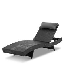 Gardeon Sun Lounge Outdoor Furniture - Wicke Rattan