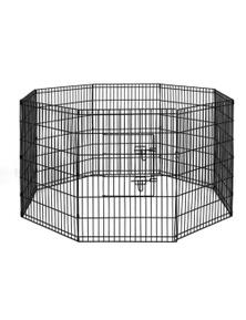 i.Pet 2x 36 Inch 8 Panel Pet Dog Playpen