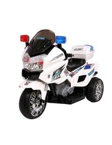Rigo Kids Ride On Motorbike Electric Battery Car S1K Inspired Police Patrol