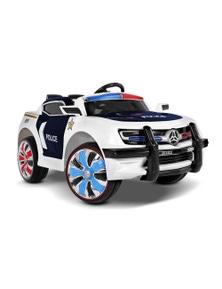 Rigo Kids Ride On Car Police Electric Toys Cars Remote Control Music 12V