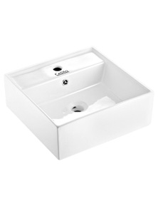 Cefito Bathroom Basin Ceramic Sink - White 41.5 x 41.5 x 14.5cm