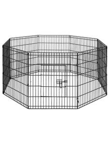 i.Pet 2x 30 Inch 8 Panel Pet Dog Playpen