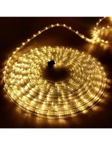 Jingle Jollys Rope Lights Christmas 50M String LED Fairy Party Wedding Garden WW