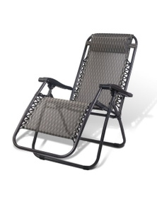 Gardeon Zero Gravity Reclining Chair - Grey