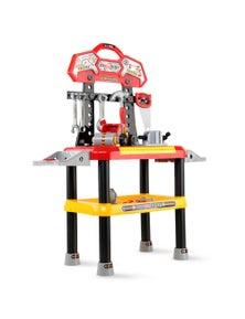 Keezi Kids Workbench 97-Piece Play Set - Red