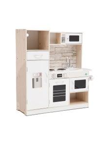 Keezi Kids Wooden Toy Kitchen Pretend Play Set