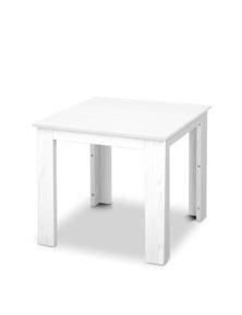 Gardeon Outdoor Side Table - White
