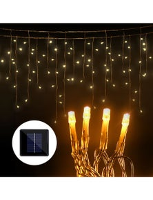Jingle Jollys Christmas String Lights Icicle 500 LED Solar Powered Outdoor 20M