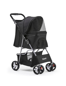 i.Pet Pet Stroller Foldable 4-Wheel