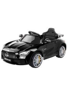 Rigo Kids Ride On Car Electric Cars Toys Mercedes-Benz Licensed Amg Gtr Remote Control Battery Black