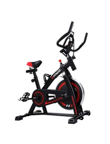 Black Home Spin Exercise Bike